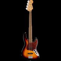 Squier Classic Vibe '60s Jazz Bass Fretless, 3-Colour Sunburst