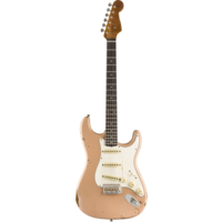 Fender Custom Shop 2019 Limited Roasted Tomatillo Strat Relic, Rosewood Fingerboard, Aged Dirty Shell Pink