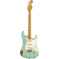 Fender Custom Shop 1959 Stratocaster Heavy Relic, Maple Fingerboard, Aged Daphne Blue
