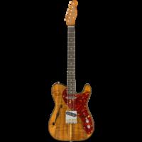 Fender Custom Shop 2019 Artisan Koa Thinline Tele NOS, African Blackwood Fingerboard, Aged Natural