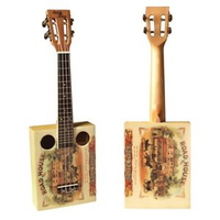 Eddy Finn Cigar Box Ukulele w/ Gig Bag