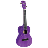 Eddy Finn Purple Ash Concert Ukulele