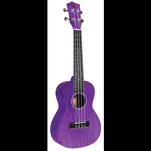 Eddy Finn Eddy Finn Purple Ash Concert Ukulele