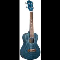 Eddy Finn Blue Ash Concert Ukulele