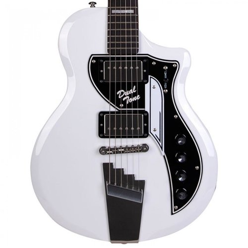 Supro Supro David Bowie HT 1961 Dual Tone Ltd Edition, White #358 of 400
