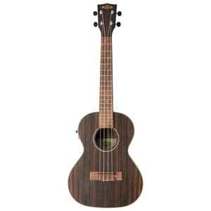 Kala Striped Ebony Tenor Electro Ukulele