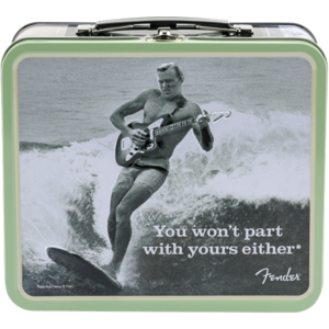 """Fender Lunchbox """"You Won't Part With Yours Either"""" with Accessories"""