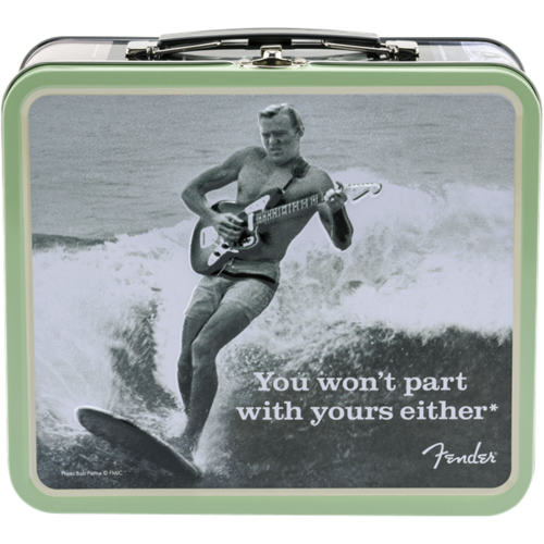 """Fender Accessories Fender Lunchbox """"You Won't Part With Yours Either"""" with Accessories"""