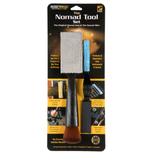 Music Nomad The Nomad Tool & The Nomad Slim - String, Surface and Hardware Cleaning Tool