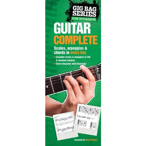 Music Sales The Gig Bag Book Of Guitar Complete