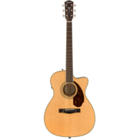 Fender Paramount PM-3 Standard 000 Electro-Acoustic, All Solid Spruce/Mahogany w/ Hard Case, Natural