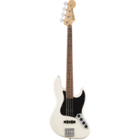 Fender Deluxe Active Jazz Bass, Pau Ferro Fingerboard, Olympic White