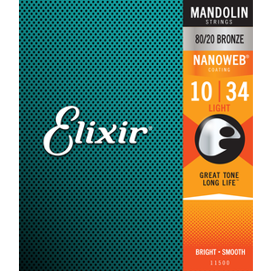 Elixir Nanoweb Coated Mandolin String Set