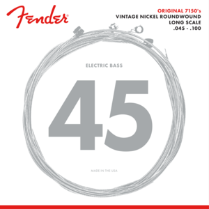Fender Original 7150 Bass String Set, Pure Nickel