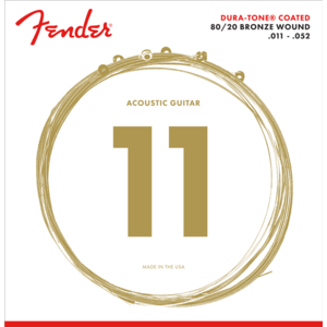 Fender Duratone Coated Acoustic String Set