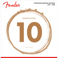 Fender Acoustic String Set, Phosphor Bronze