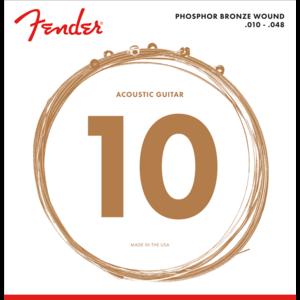Fender Acoustic String Set, Phosphor Bronze