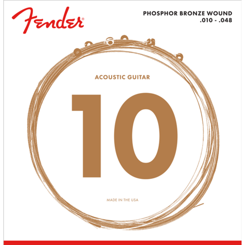 Fender Accessories Fender Acoustic String Set, Phosphor Bronze