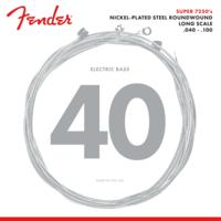 Fender Super 7250 Bass String Set, Nickel