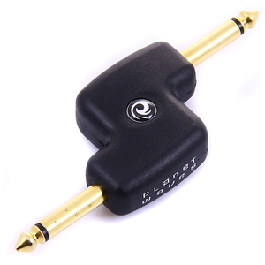 "Planet Waves 1/4"" Male Mono Offset Adapter"