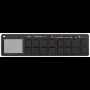 Korg nanoPAD2 Slimline USB Controller, Black