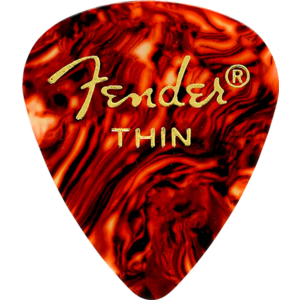 Fender Classic Celluloid Picks, 12-Pack