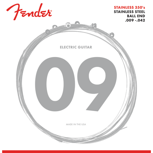 Fender Accessories Fender Stainless 350 Electric String Set