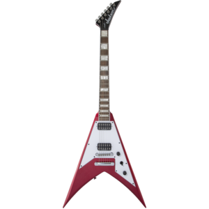 Jackson X Series Signature Scott Ian King V KVXT, Candy Apple Red