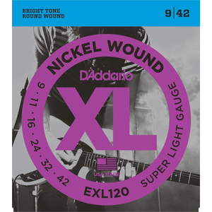 D'Addario XL Electric Guitar String Set
