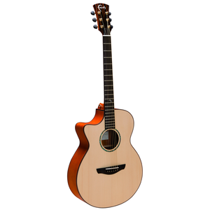Faith Natural Venus Left-Handed Electro-Acoustic, All Solid, Engelmann Spruce Top, Mahogany Back