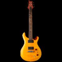 PRS SE Pauls Guitar, Amber w/Tobacco Back