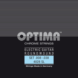 Optima Chrome Electric Guitar String Set