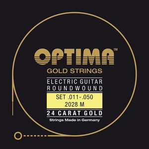 Optima Gold Double Ball End Electric Guitar String Set
