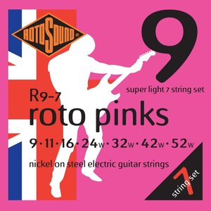 Rotosound 7-String Electric Guitar String Set