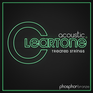 Cleartone Coated Acoustic String Set, Phosphor Bronze