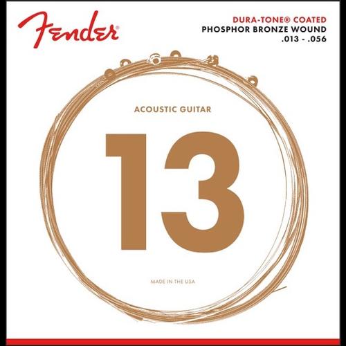 Fender Accessories Fender Duratone Coated Acoustic String Set, Phosphor Bronze