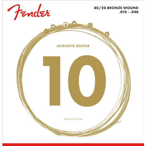 Fender Accessories Fender Duratone Coated Acoustic String Set
