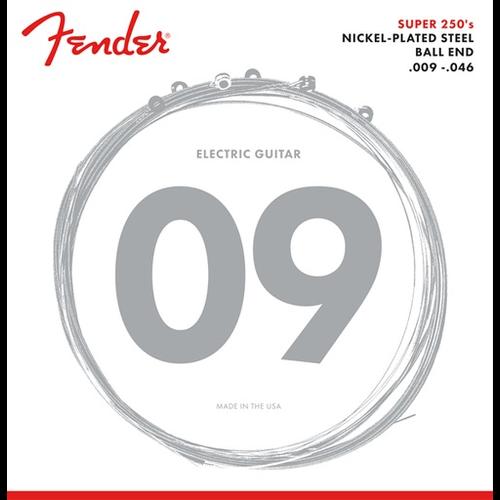 Fender Accessories Fender Super 250 Electric String Set