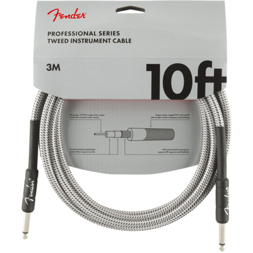 Fender Accessories Fender Professional Instrument Cable, Tweed