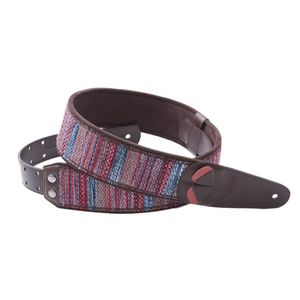 RightOn! Guitar Strap, Mojo Maracaibo Red