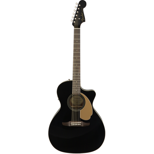 Fender Fender Newporter Player, Solid Sitka Spruce Top, Mahogany Back