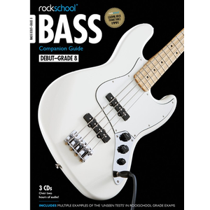 Rockschool: 2012-2018 Bass Companion Guide - Grades Debut-8