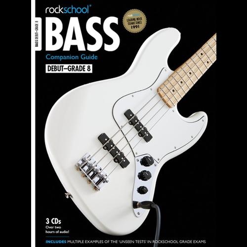 Rockschool Ltd. Rockschool: 2012-2018 Bass Companion Guide - Grades Debut-8