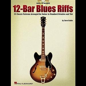 12-Bar Blues Riffs (Book And CD)