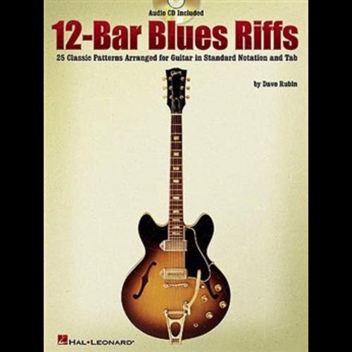 Hal Leonard 12-Bar Blues Riffs (Book And CD)