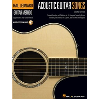 Hal Leonard Guitar Method: Acoustic Guitar Songs