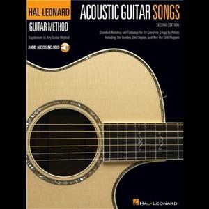 Hal Leonard Guitar Method: Acoustic Guitar Songs