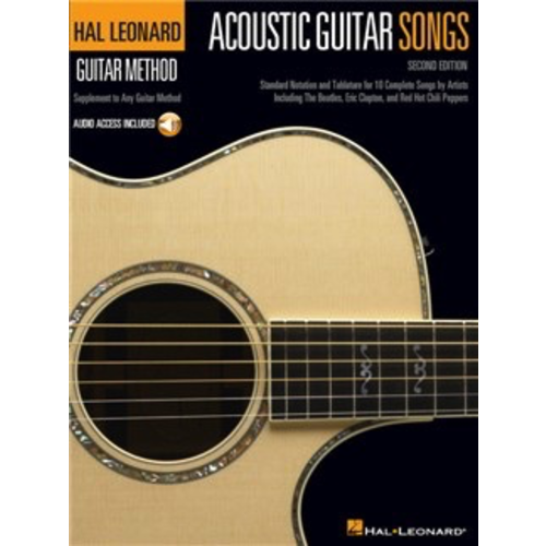 Hal Leonard Hal Leonard Guitar Method: Acoustic Guitar Songs
