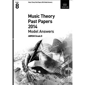 ABRSM Music Theory Past Papers 2014 - Grade 8 (Book Only)