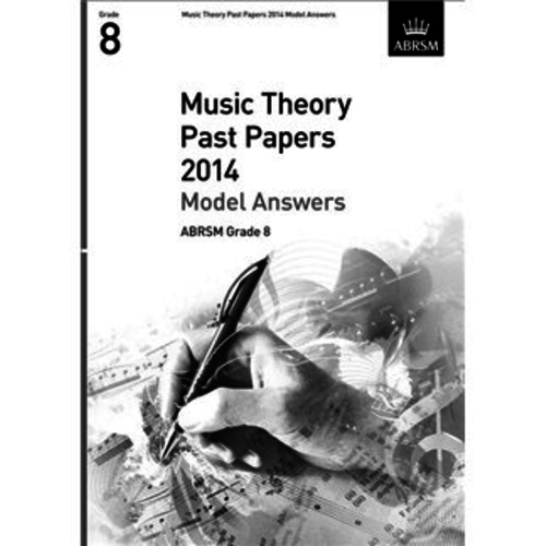 ABRSM Publishing ABRSM Music Theory Past Papers 2014 - Grade 8 (Book Only)